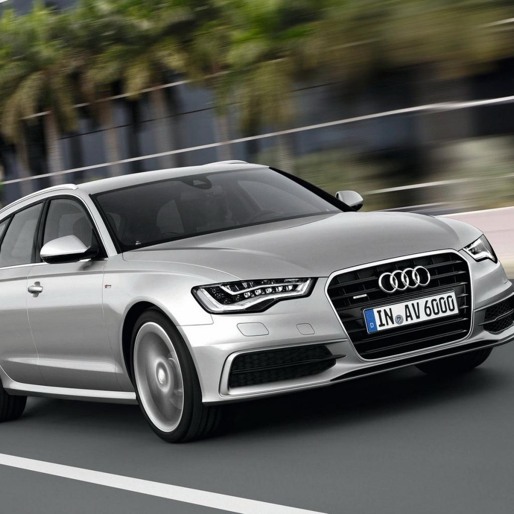 Audi A6 2012 Desktop Wallpapers 1024x1024