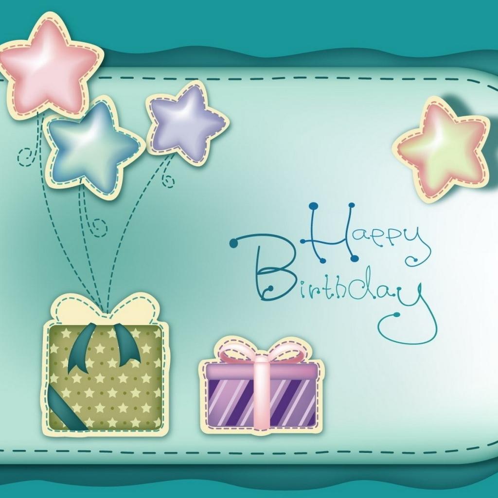 Фотошоп открытка из с днем рождения