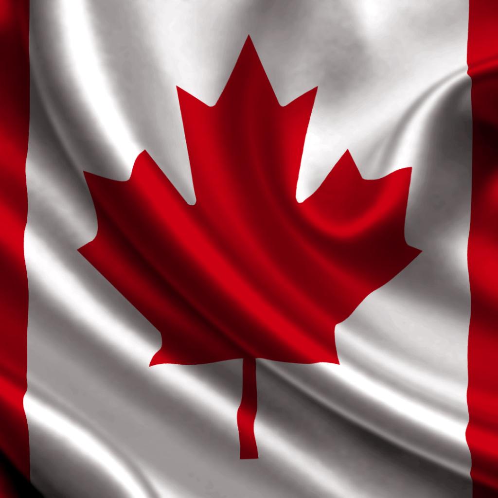 канадский флаг обои для рабочего стола № 506453  скачать