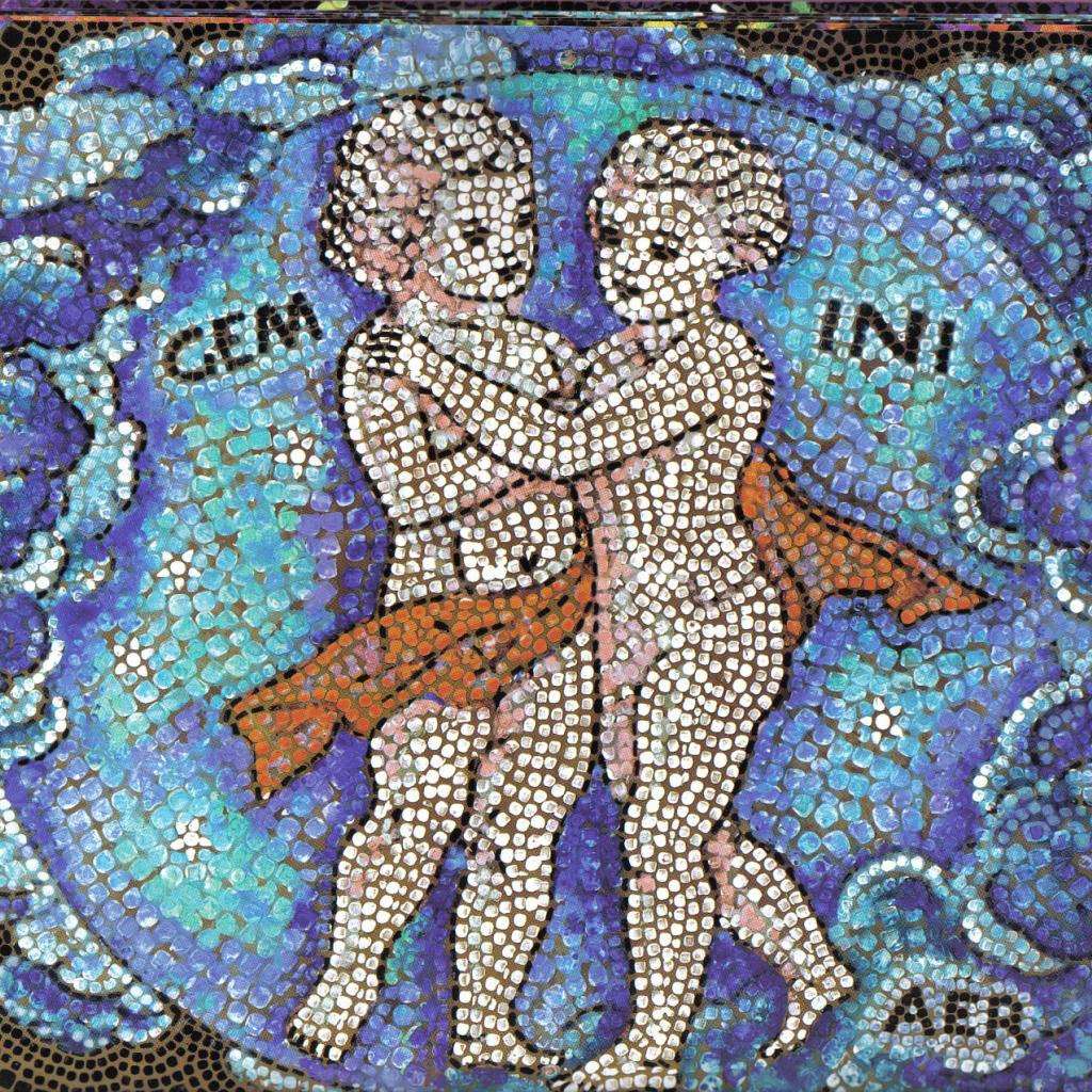 gemini mosaic desktop wallpapers 1024x1024