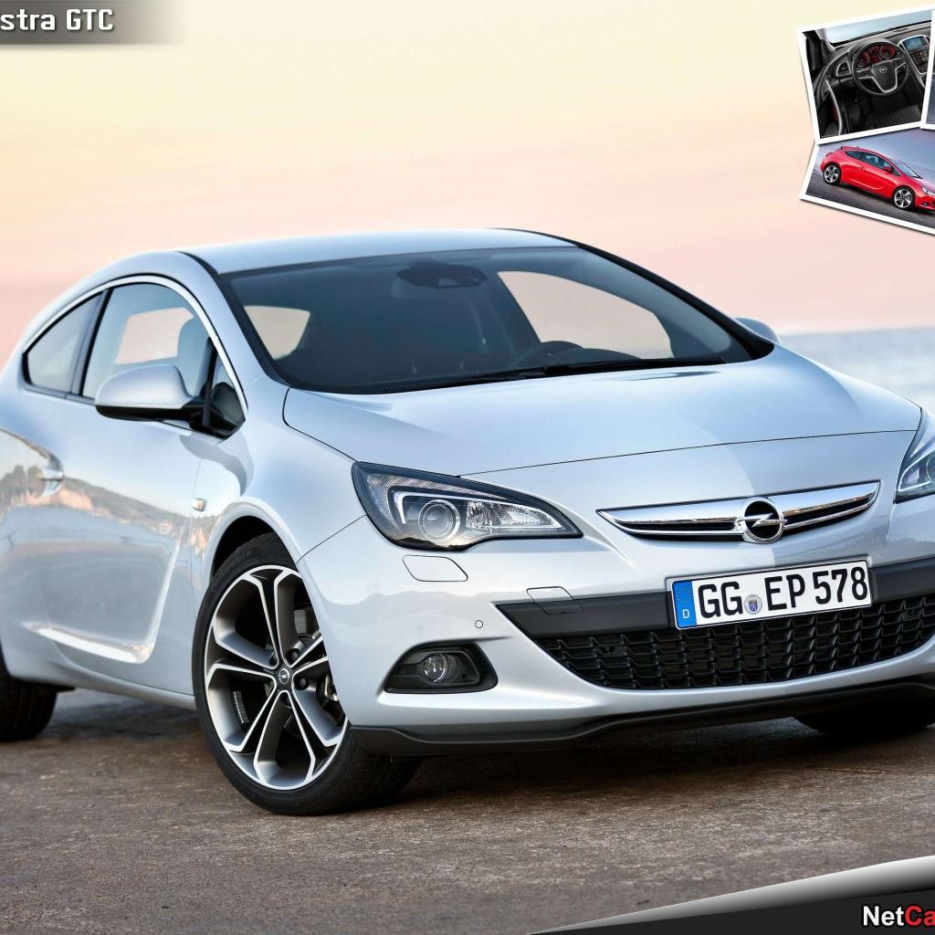 Opel Car Wallpaper: Design Of The Car Opel Astra GTC Desktop Wallpapers 1024x1024