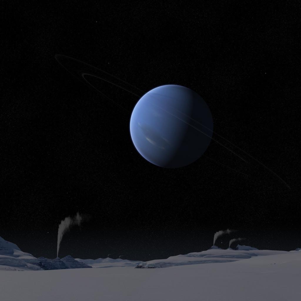 Спутники нептуна картинки