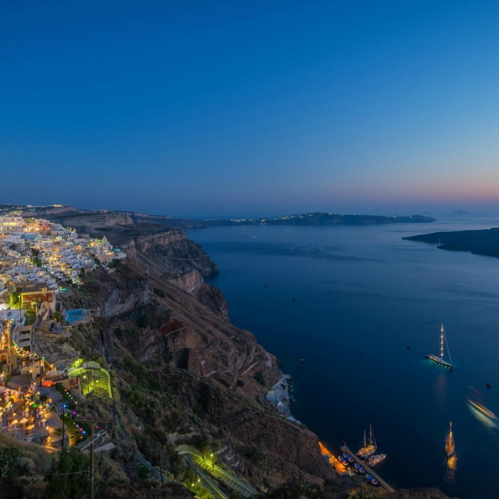 wallpaper santorini greece island - photo #41
