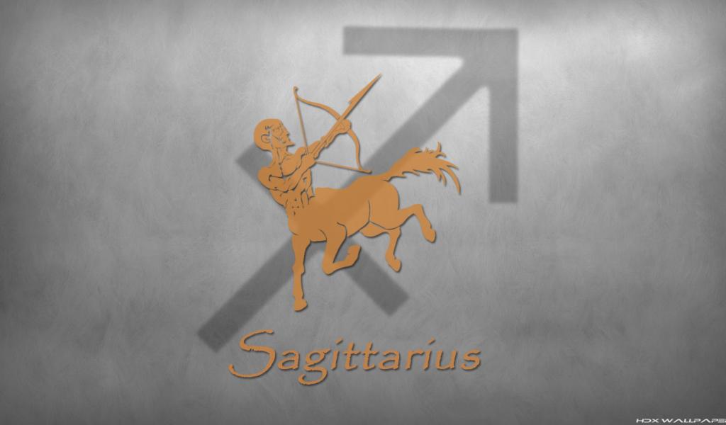 Zodiac Sign Sagittarius Desktop Wallpapers 1024x600