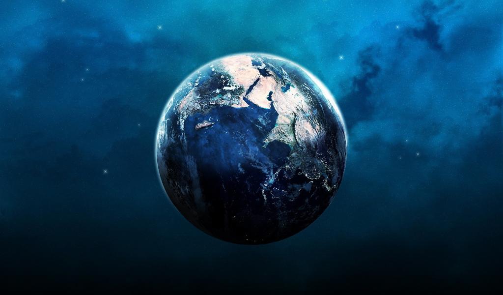 Планета земля фото со спутника обои