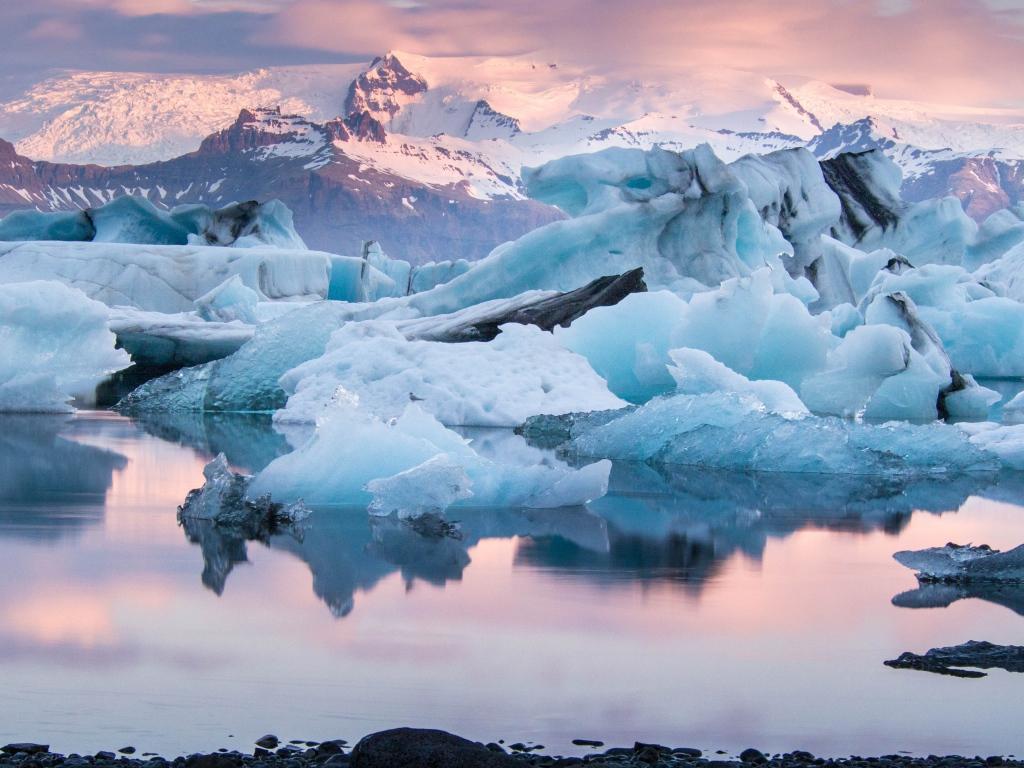 Обои ледниковая лагуна йёкюльсаурлоун, Исландия. Природа foto 15