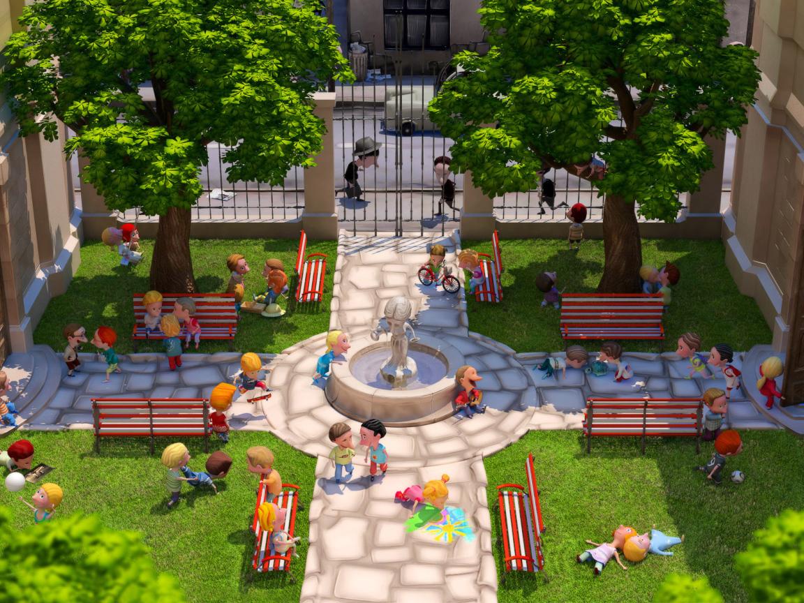 Проект двора своими руками