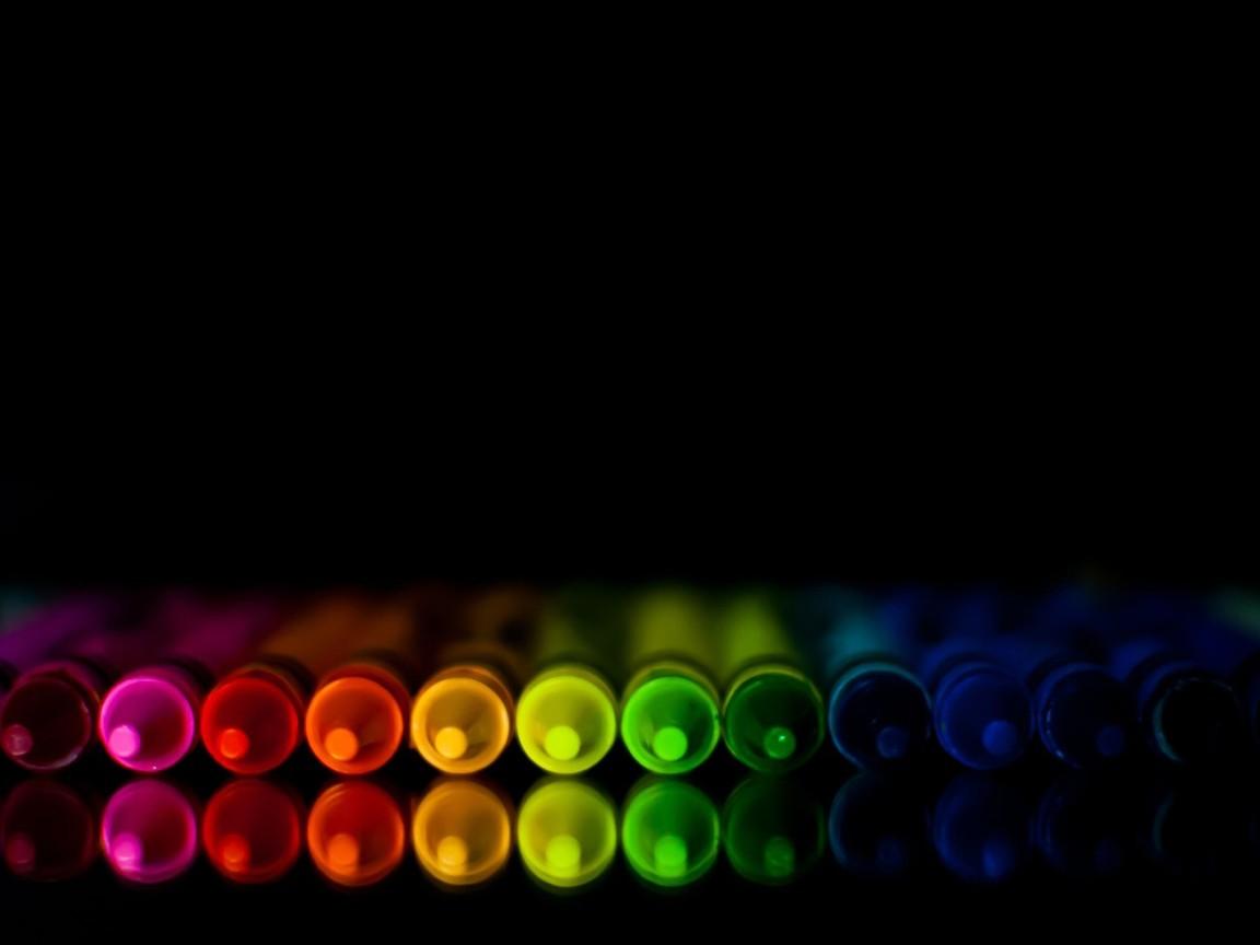 Neon Crayons Desktop Wallpapers 1152x864