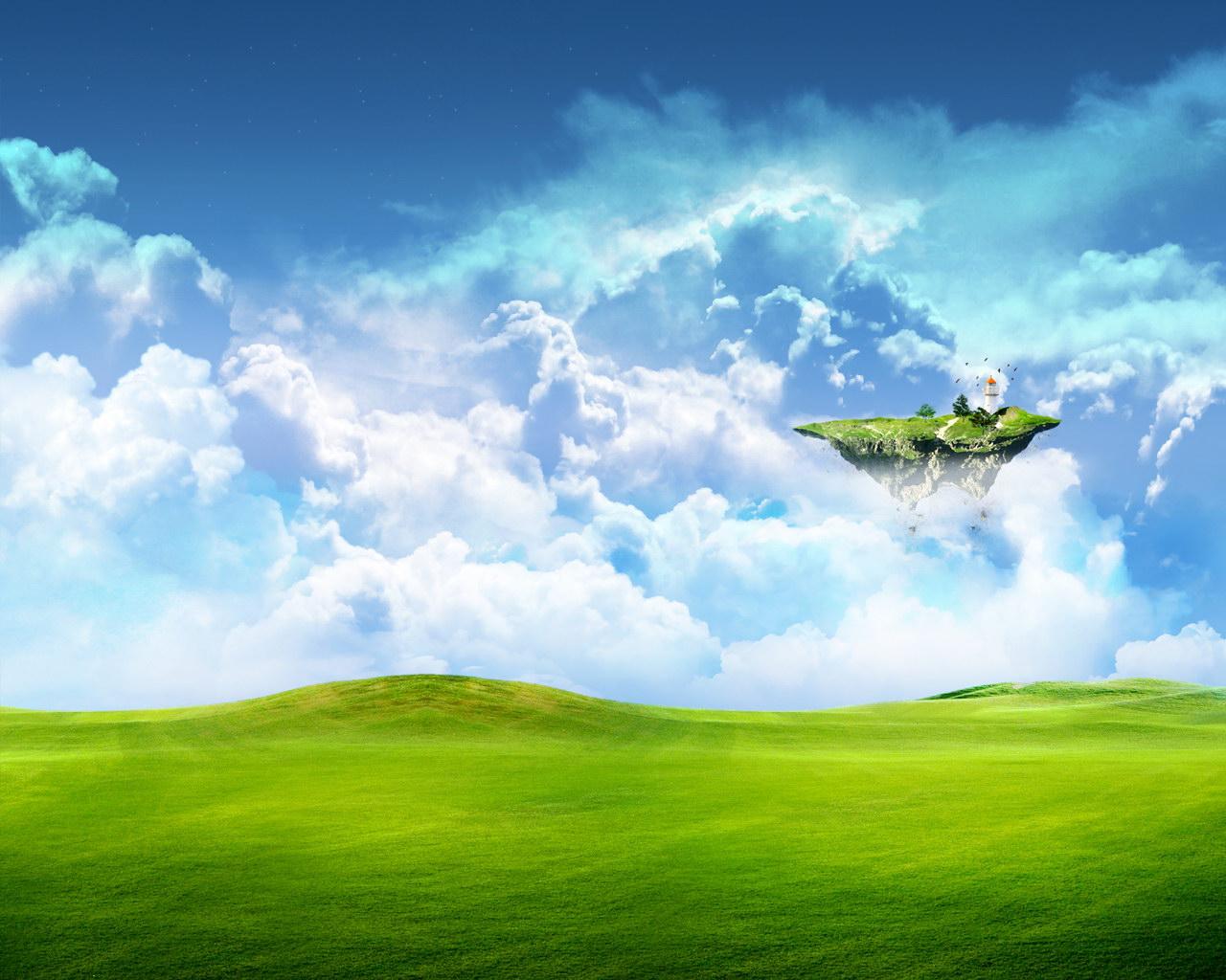 Природа острова небесный остров