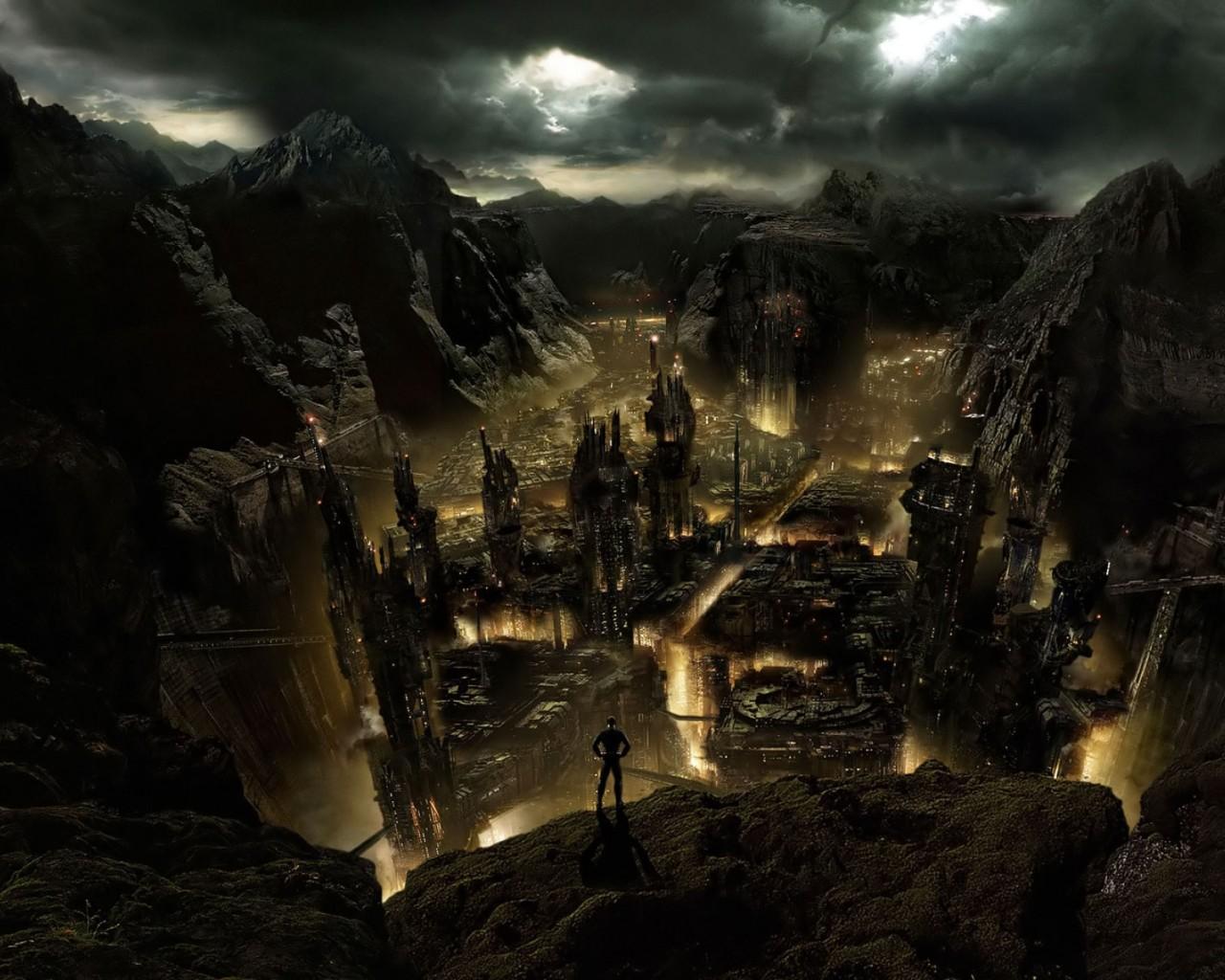 Dark City Desktop wallpapers 1280x1024