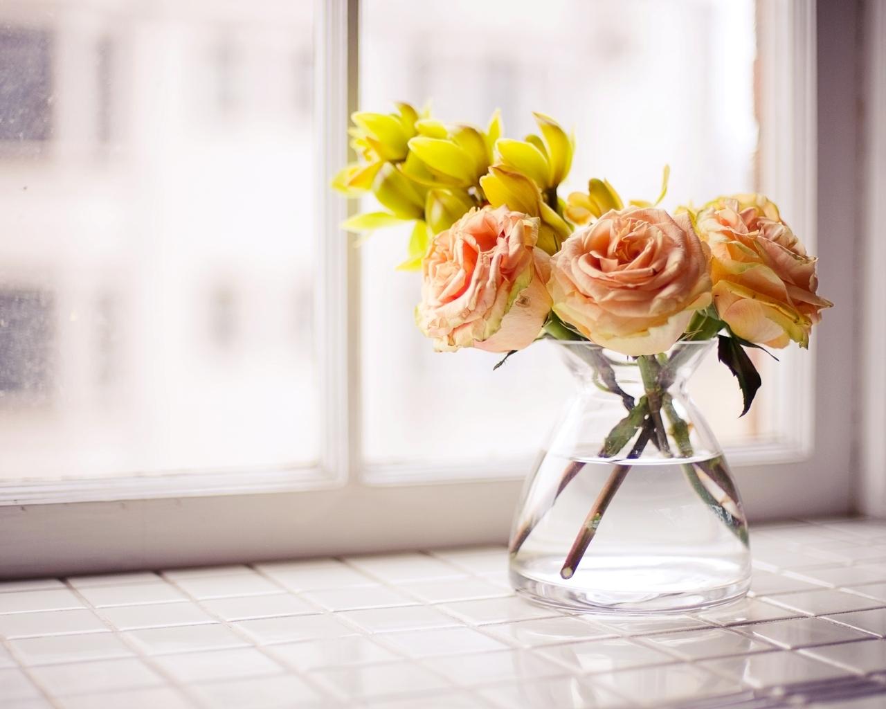 Цветы долго стоят фото