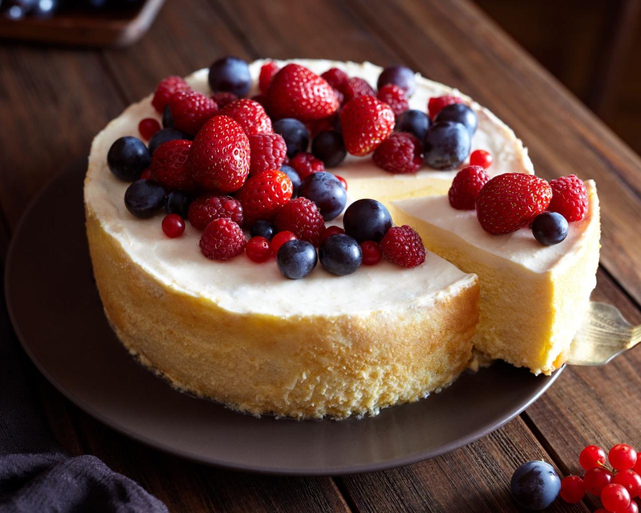 просит тебя чизкейк со свежими ягодами рецепт с фото гениального