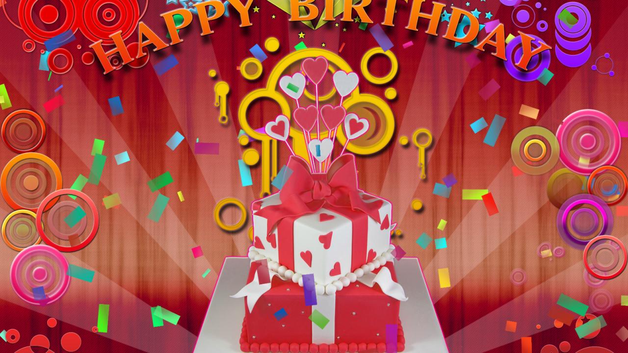 Открытка на день рождения на казахском