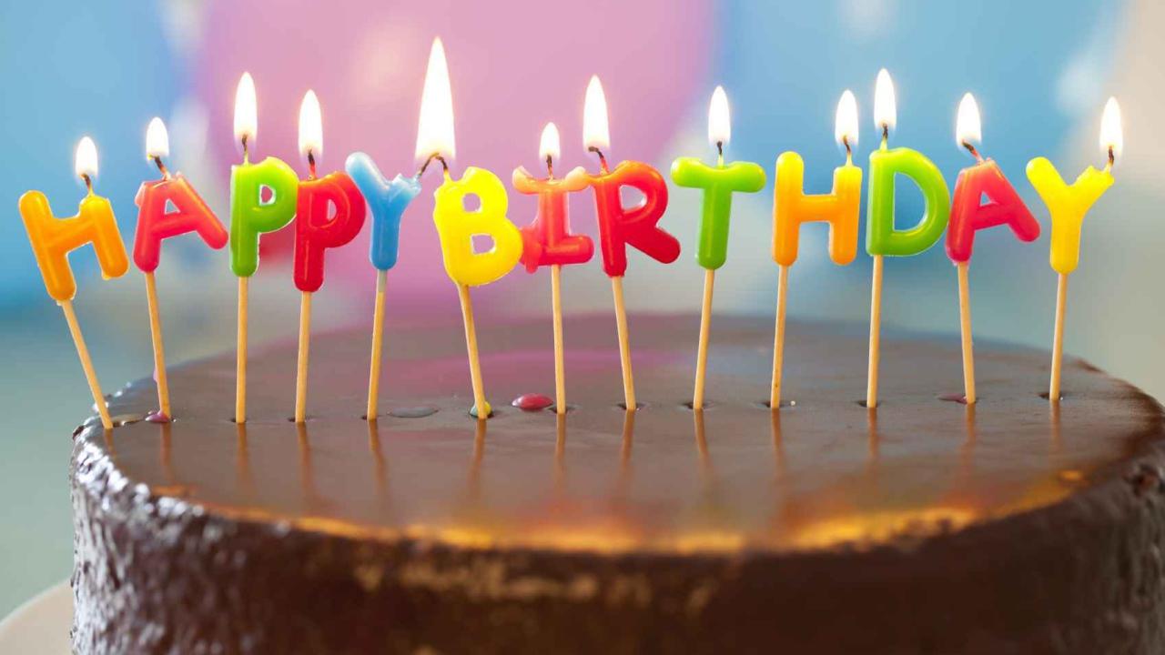 Открытка ко дню рождения в фейсбуке 563