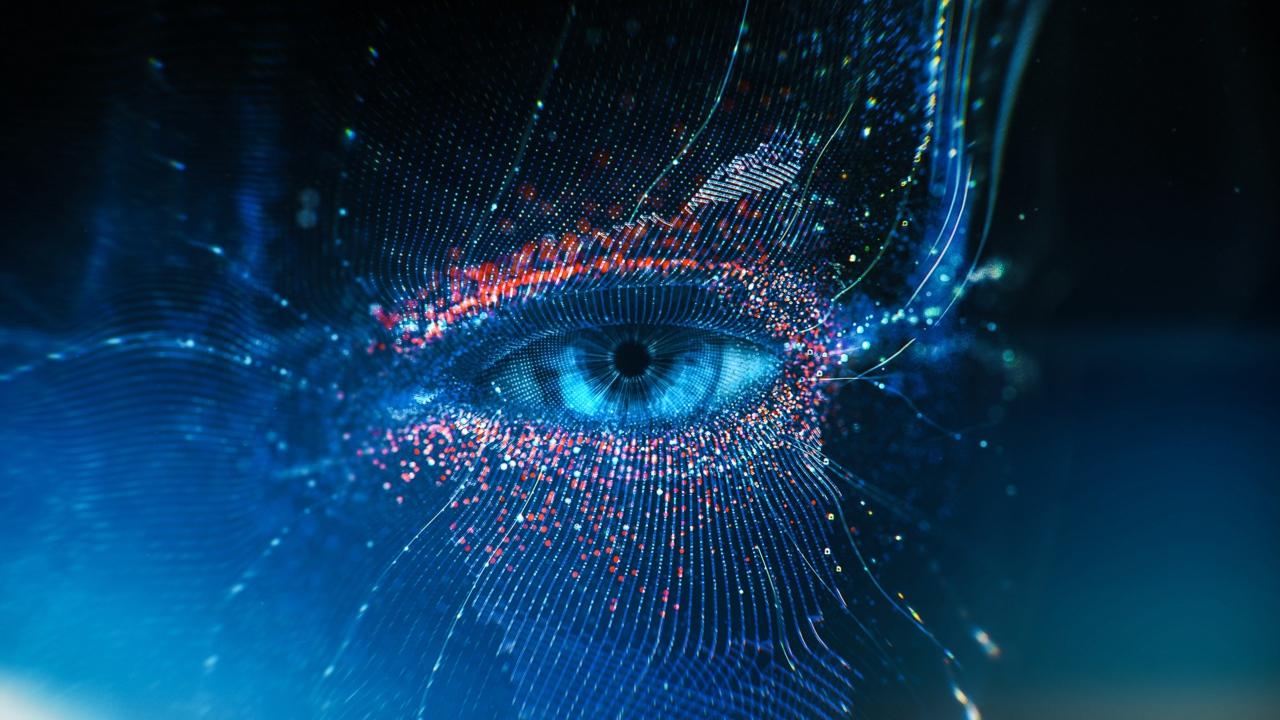 Abstract Eye 3d Graphics Desktop Wallpapers 1280x720