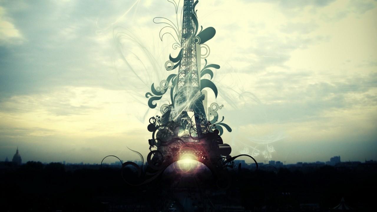 World - France - Paris Tower wallpaper