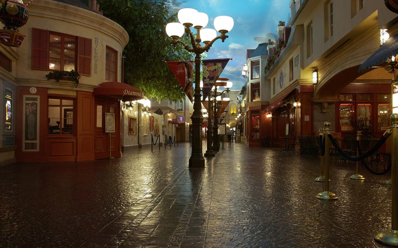 Главная улица Cities_The_beautiful_old_city_street_013248_