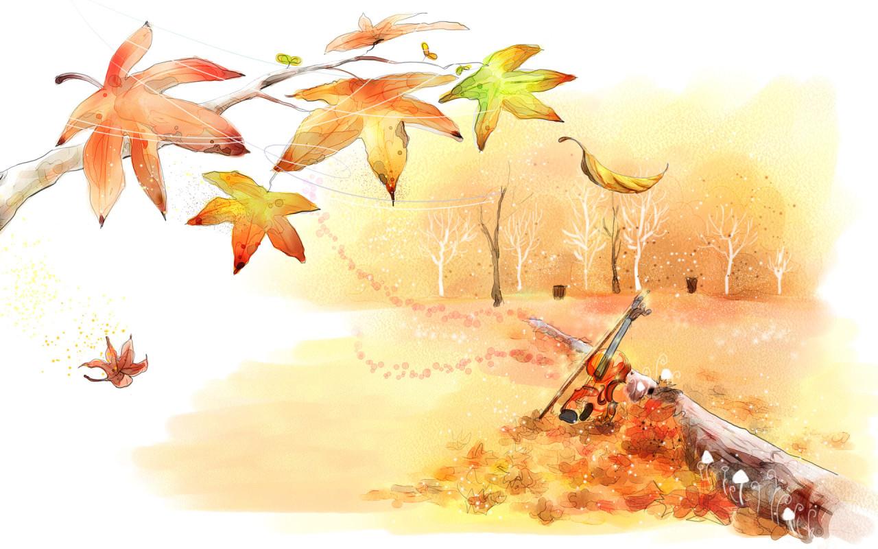 Блок стих про осень