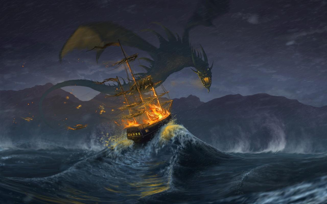 Fantasy Wallpaper Free Dragon Wallpapers