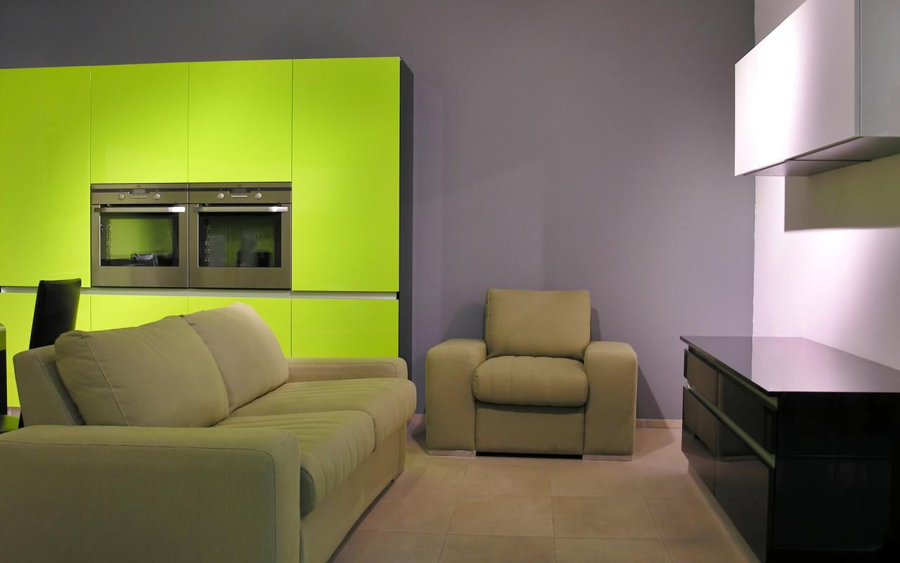 Обои интерьеры приятный дизайн зала