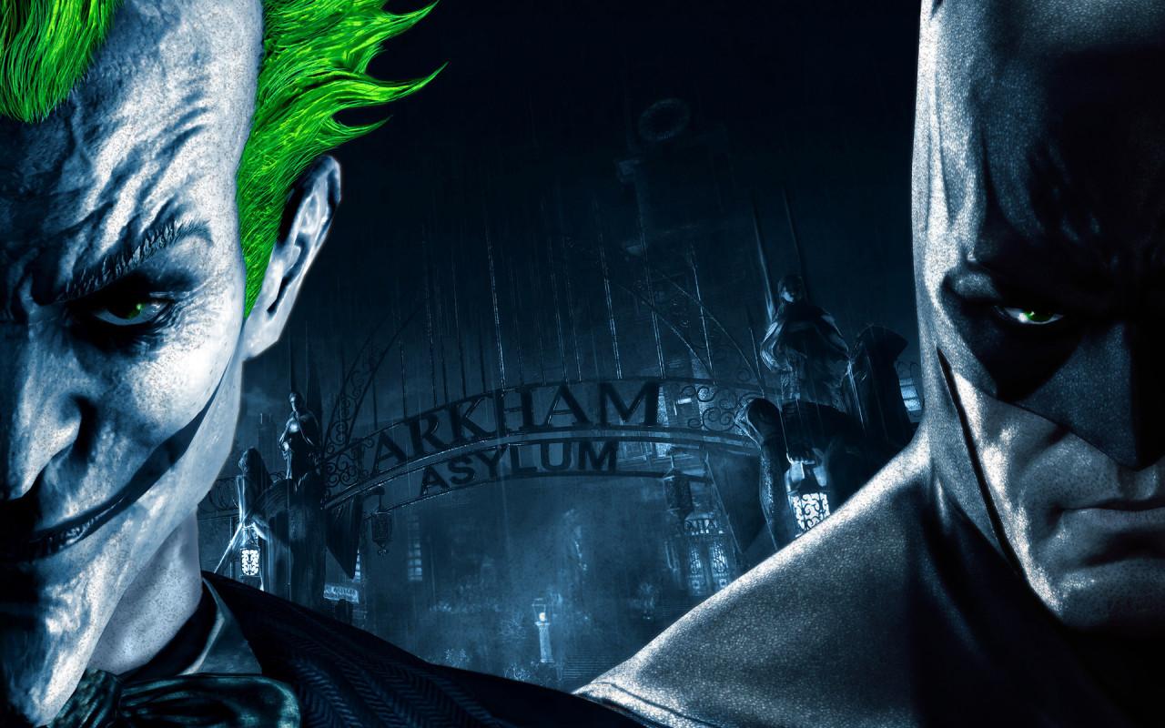 Previous, Games - Batman and Joker wallpaper