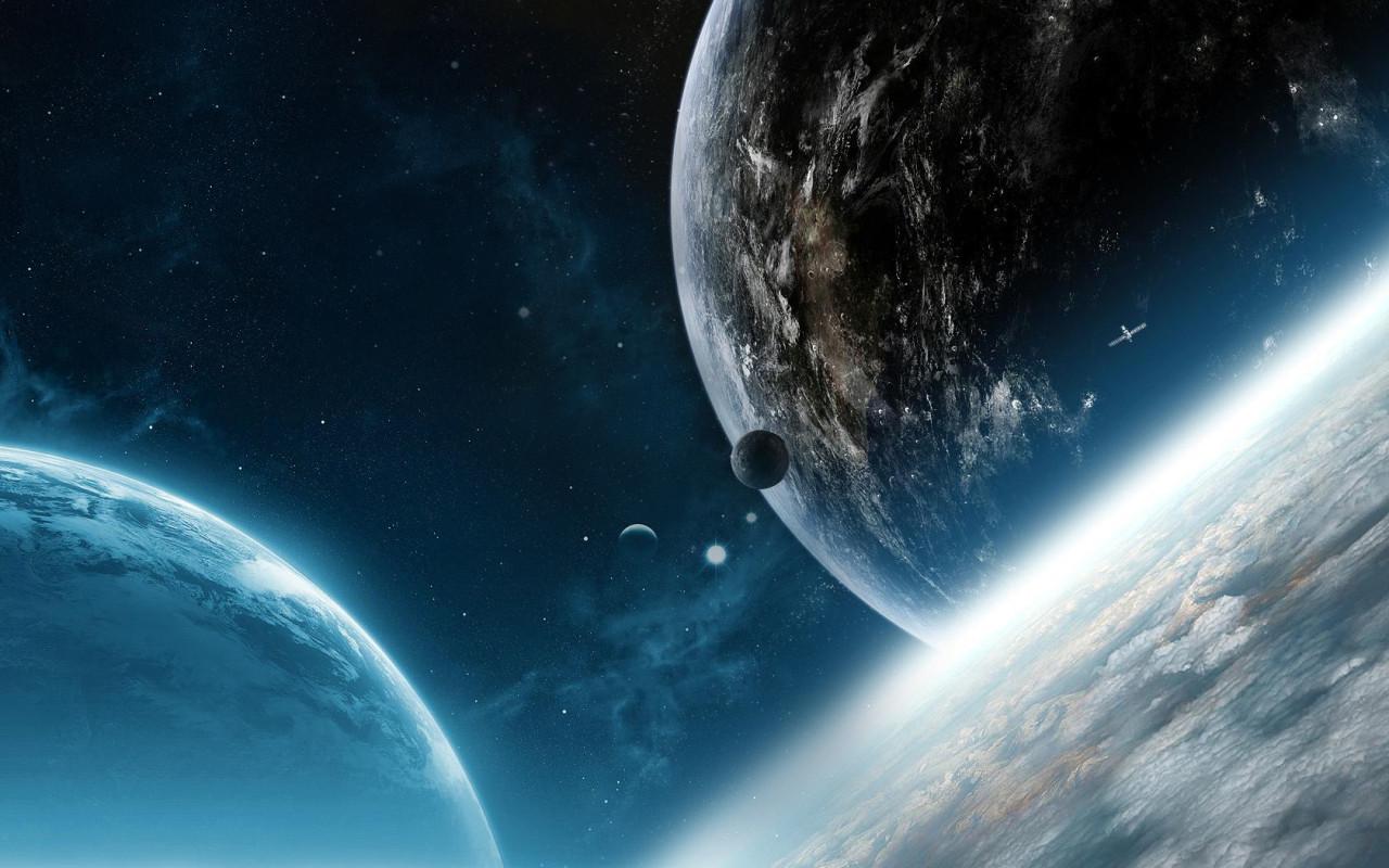 Sci Fi Desktop Backgrounds: Sci-Fi-Planets Desktop Wallpapers 1280x800