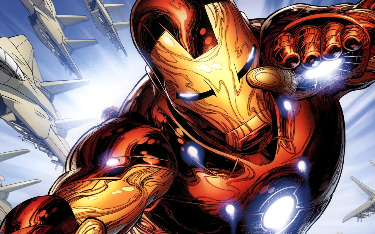 Cartoon iron man desktop wallpapers 1280x800 - Iron man cartoon download ...