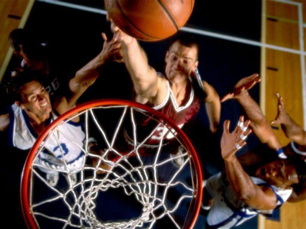 Обои баскетбол бросок