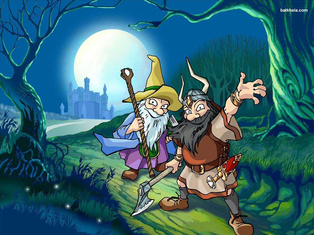 определяют ведьмы гномы картинки кельма