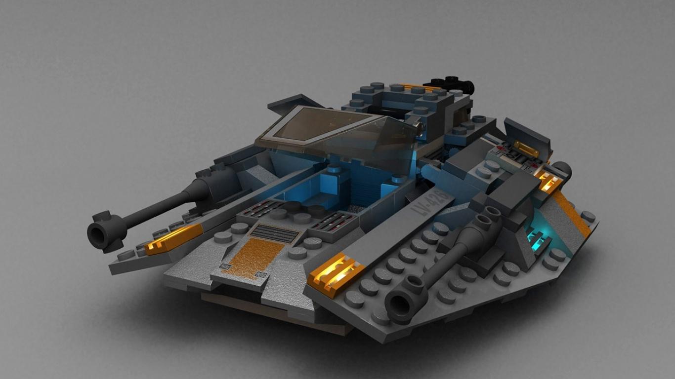 Zastaki.com - Лего танк