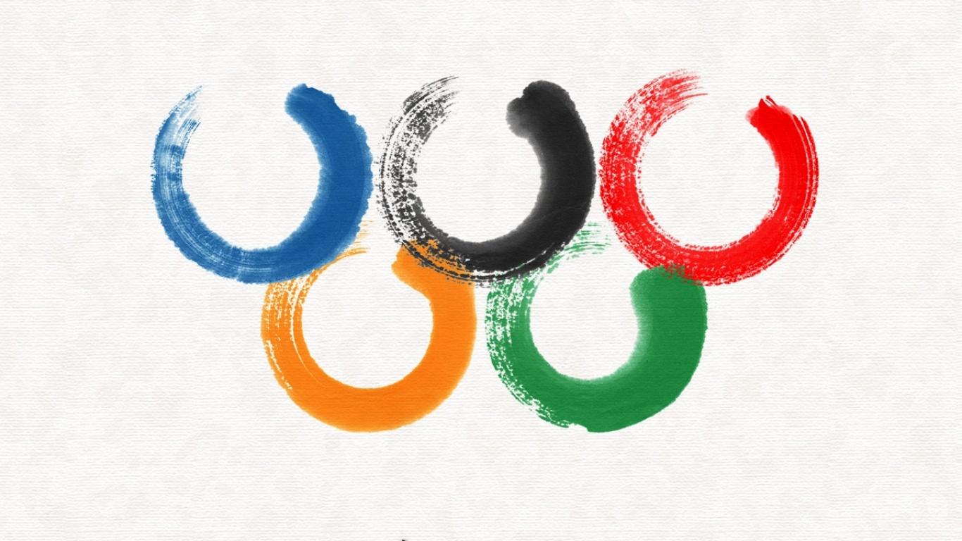 Раскраска олимпийских колец