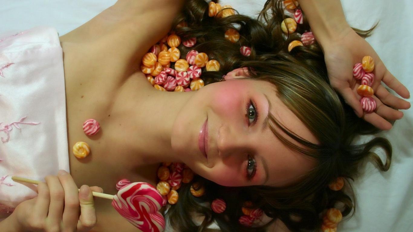Фото конфетки для девушки
