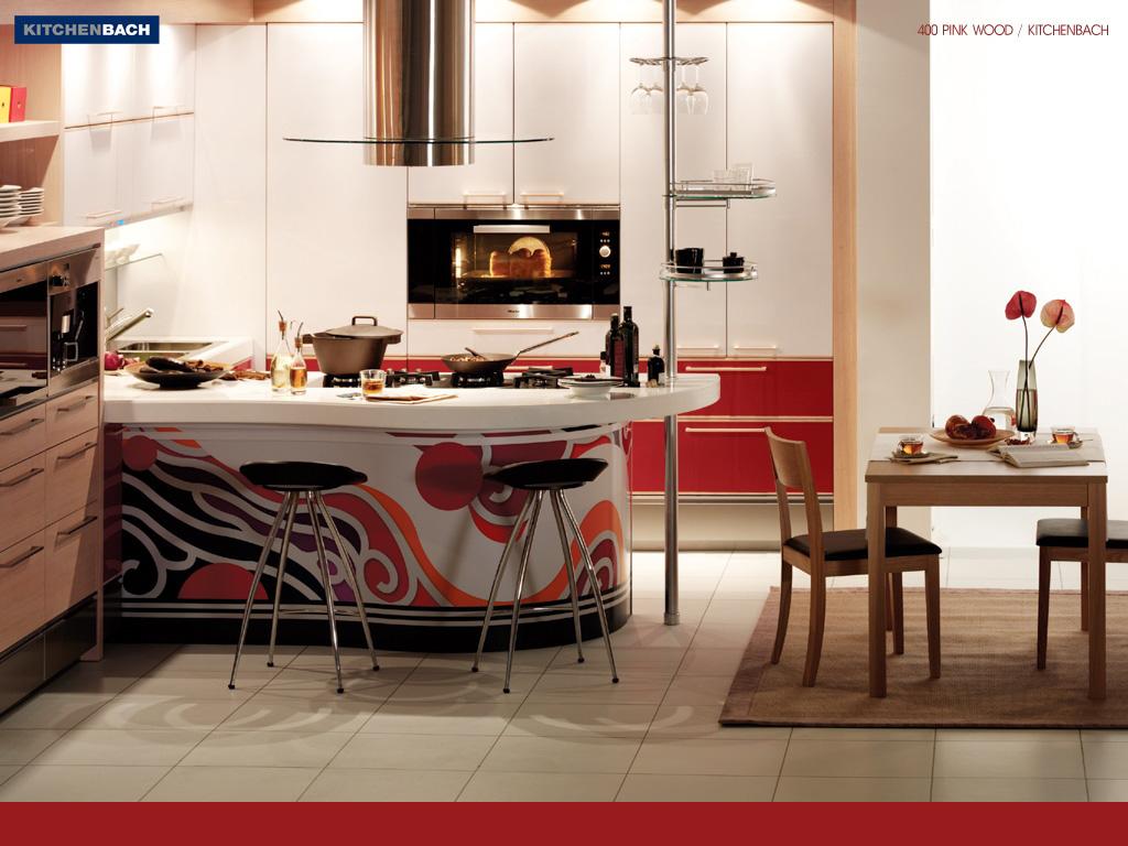 wallpaper kitchen wallpaper designs Stylish kitchen interior design