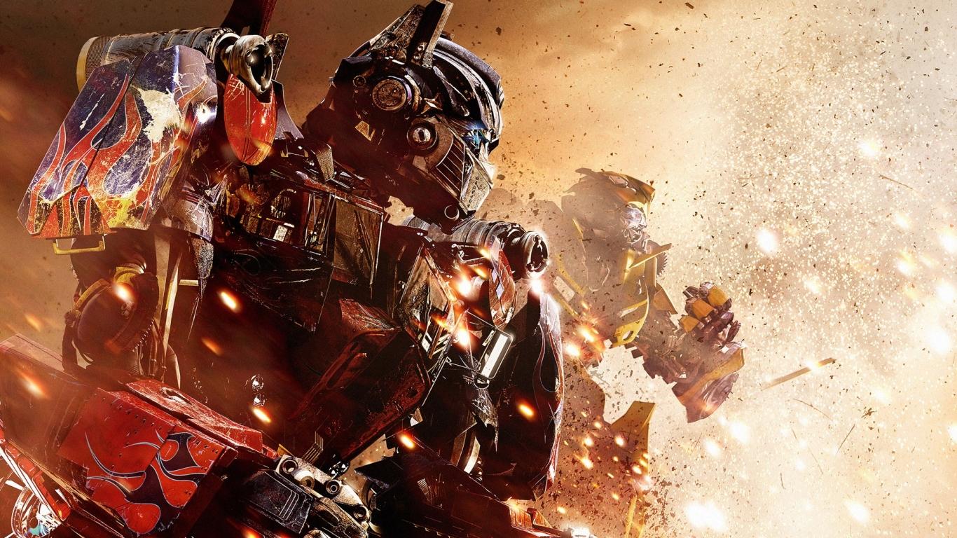 Transformers Revenge Of The Fallen Desktop Wallpapers 1366x768