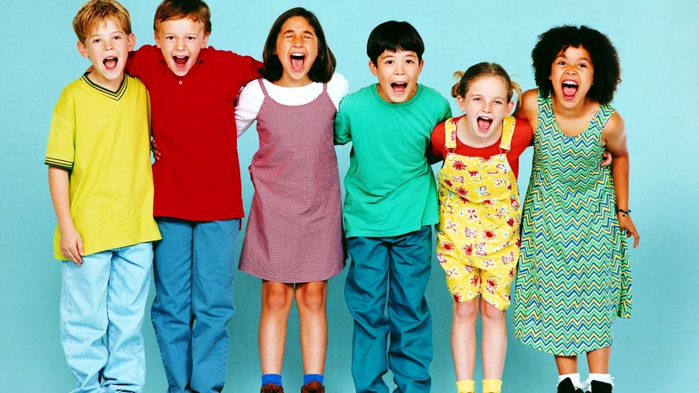 happy children wallpaper - photo #34
