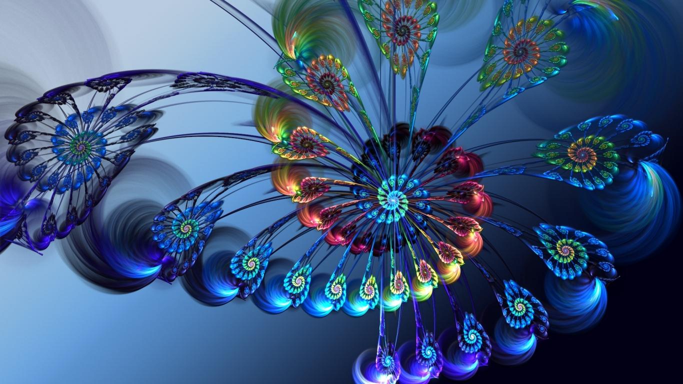 http://www.zastavki.com/pictures/1366x768/2010/3D-graphics_Rainbow_Flower_024942_.jpg
