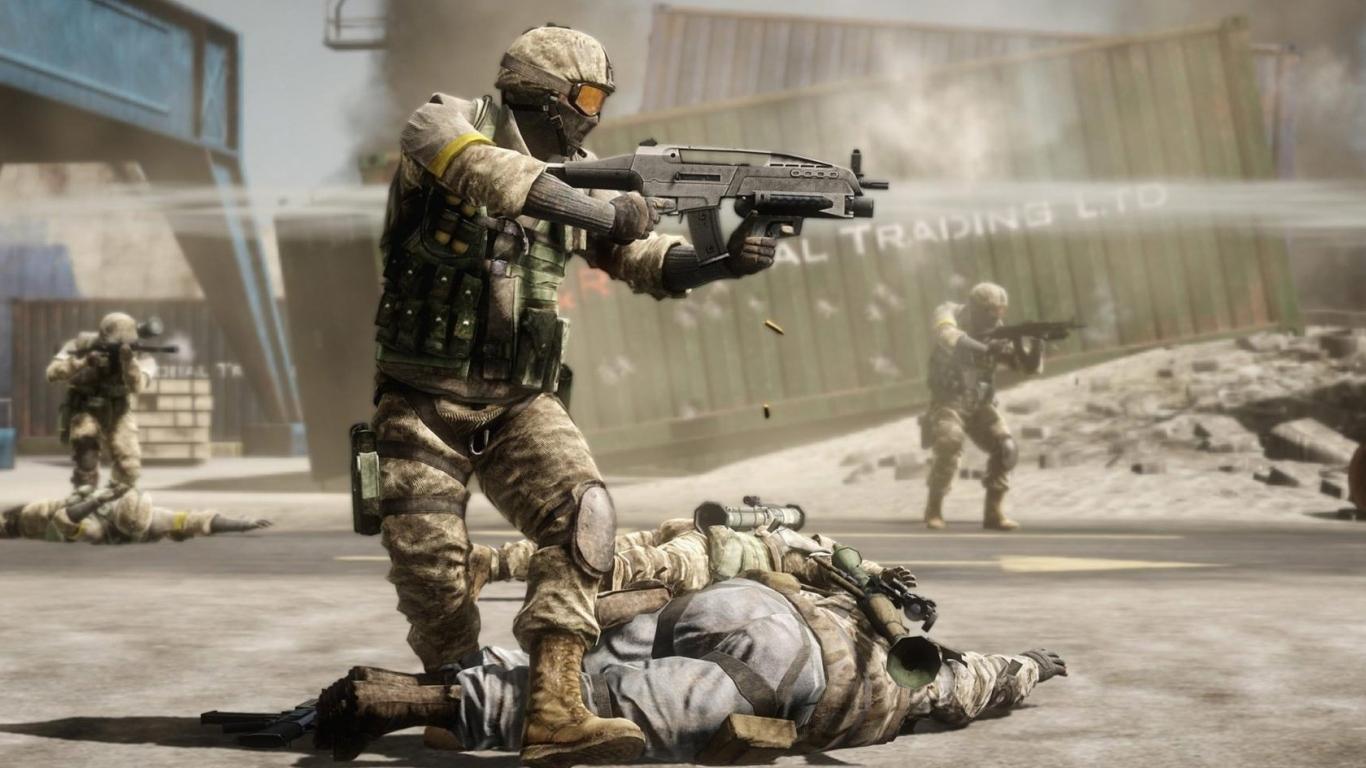 Игры - шутер Battlefield bad company.