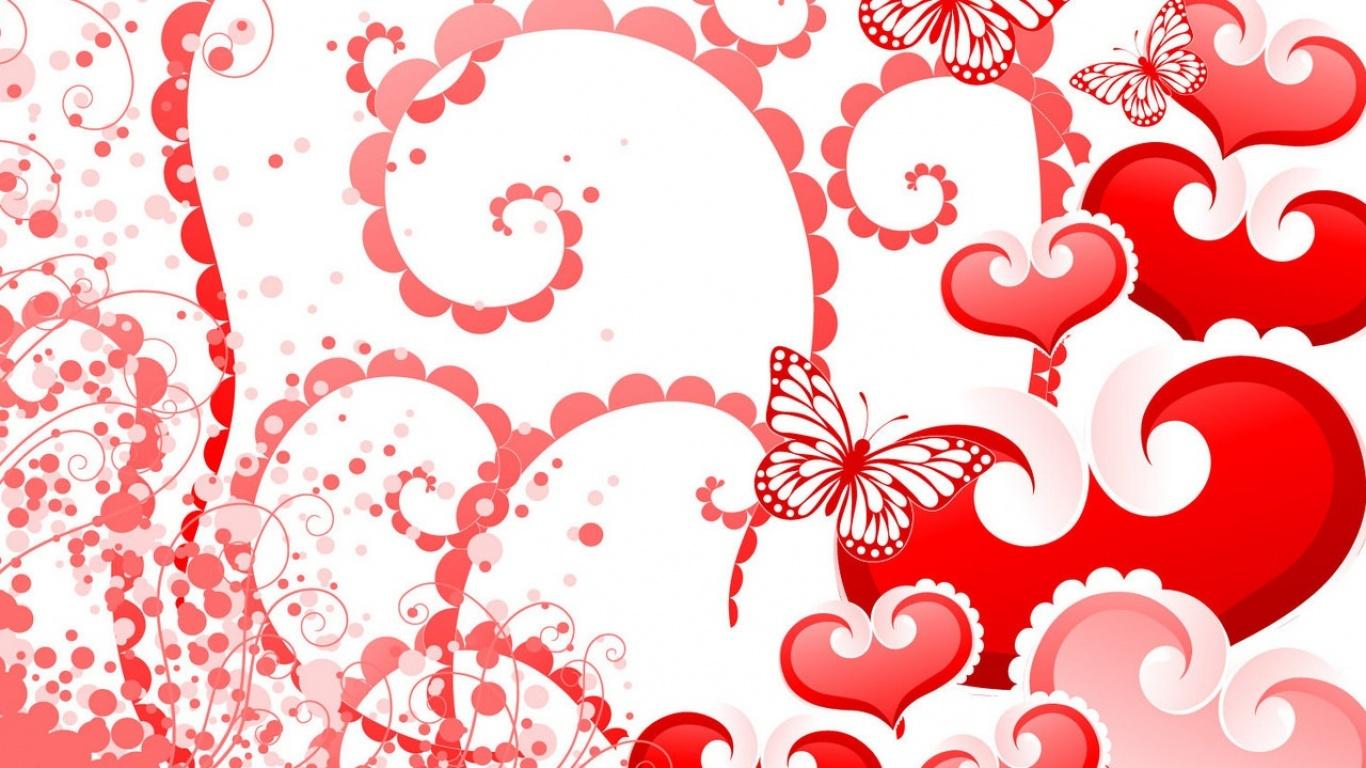 Картинки с днем валентина как фон