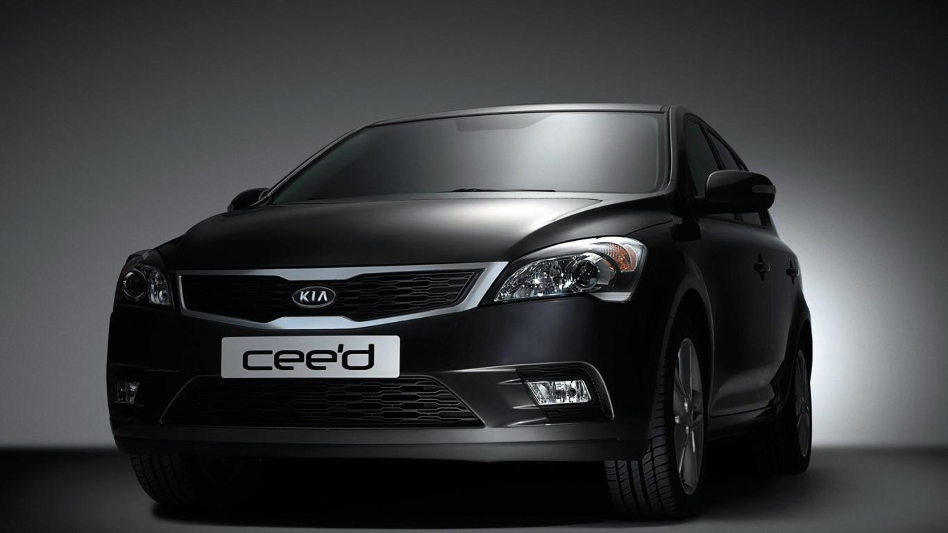 Reliable Car Kia Ceed Desktop Wallpapers 1366x768