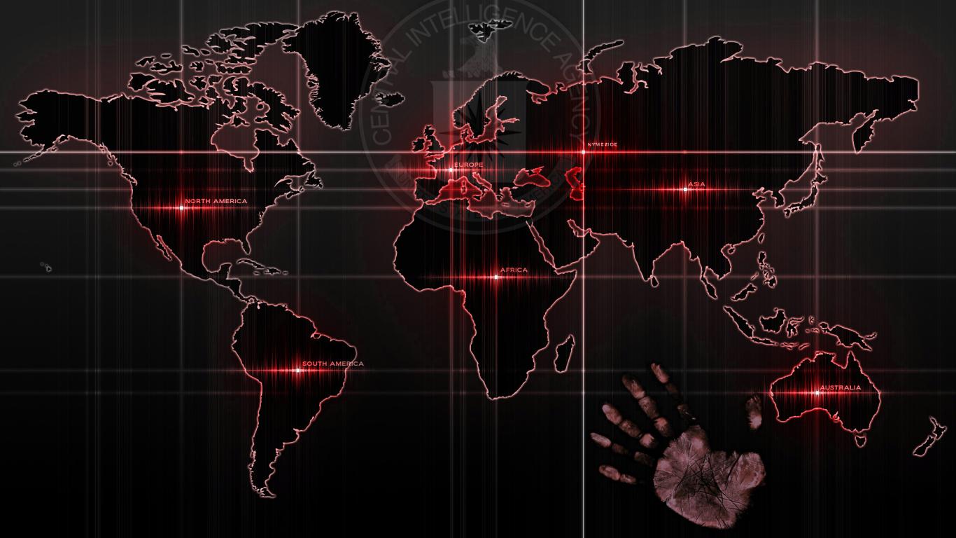 Cia world map desktop wallpapers 1366x768 gumiabroncs Gallery