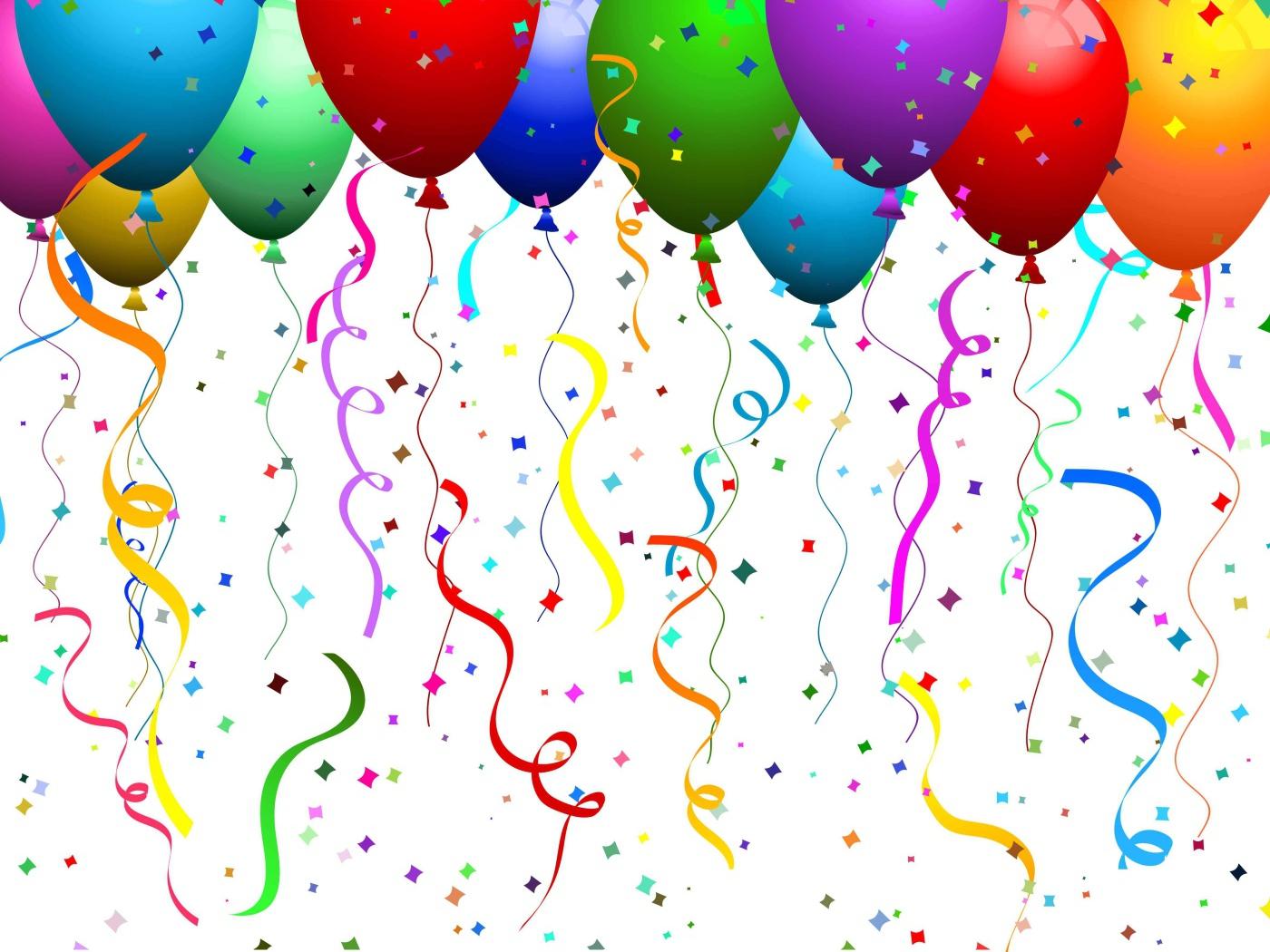 Серпантин поздравлений на день рождения 872