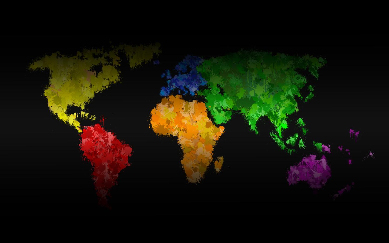 быстрый карта мира фото рабочего стола многокомнатной квартире