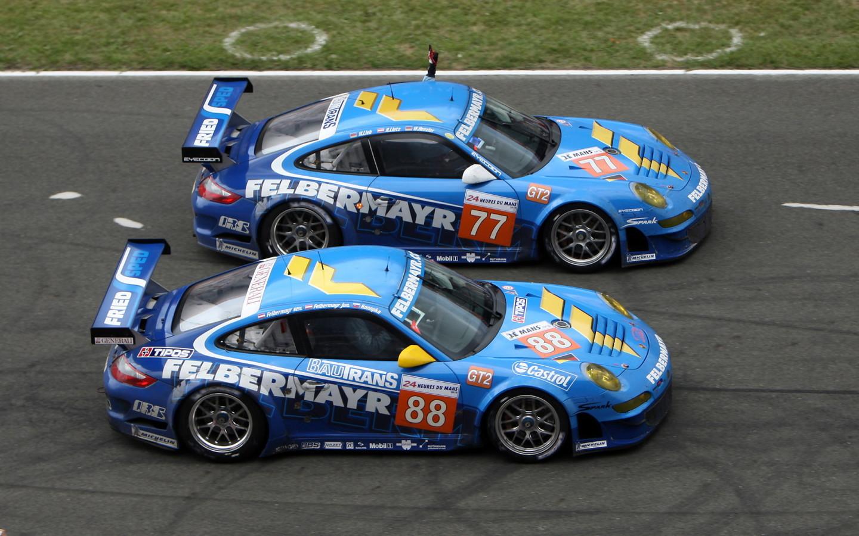 Porsche-911-GT3-RSR-Racing Desktop wallpapers 1440x900