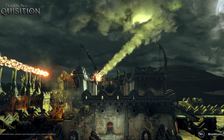 Dragon Age Inquisition Meteor Shower Desktop Wallpapers 1440x900