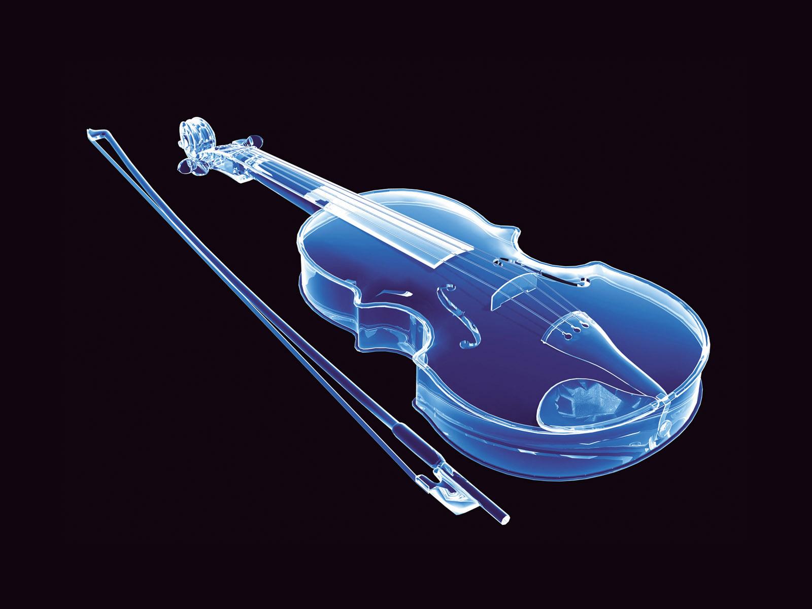 neon violin wallpaper - photo #1