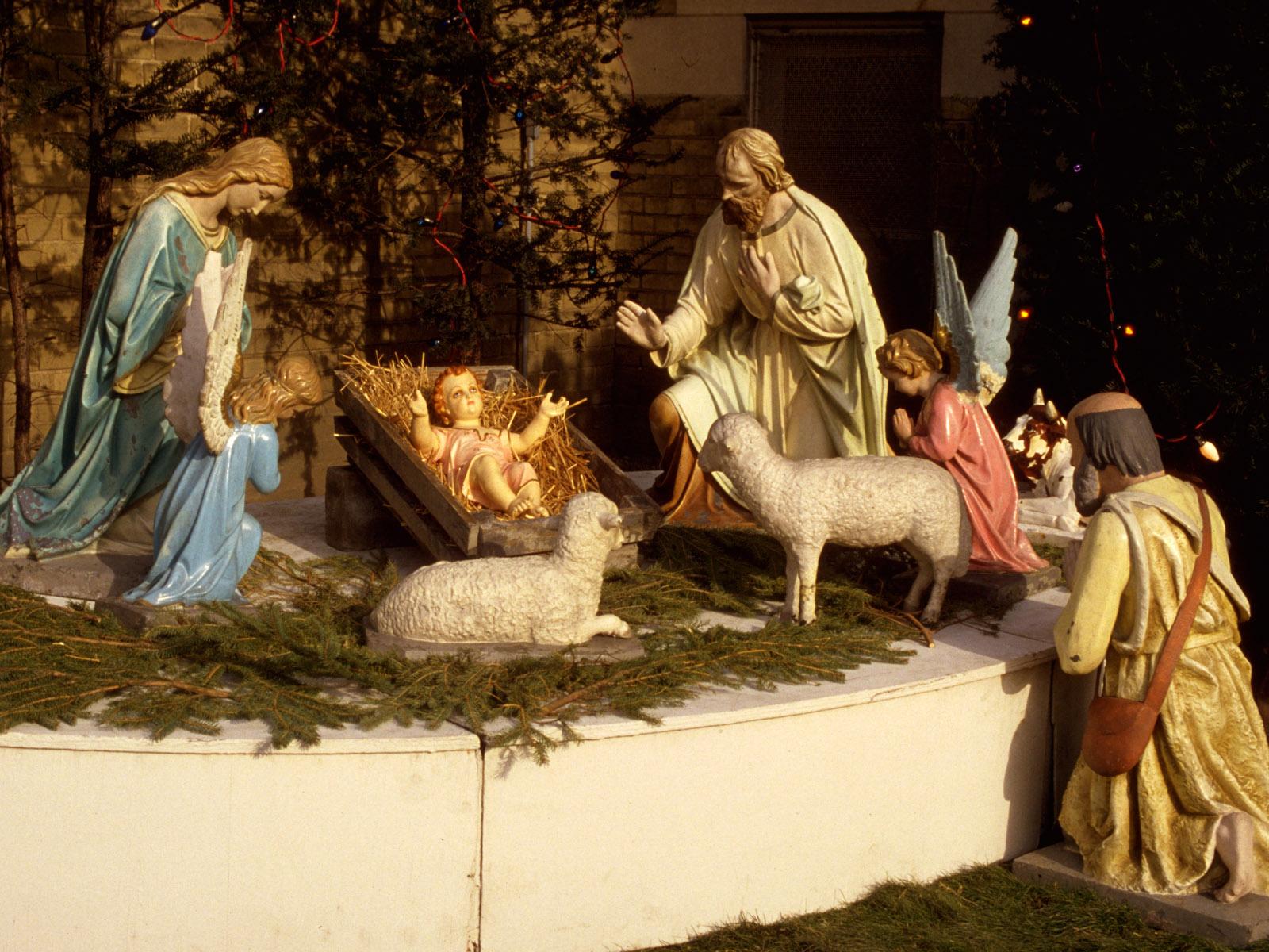 Христианские рождественские картинки на рабочий стол на весь экран, букеты