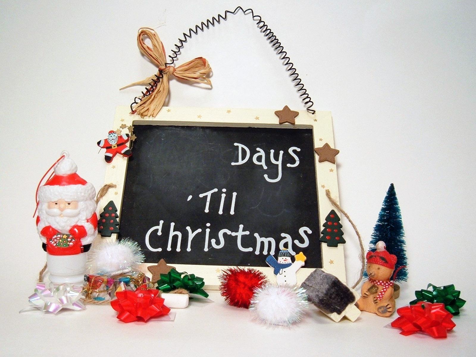 Christmas Calendar Wallpaper : Рождественский календарь Рождество обои для рабочего