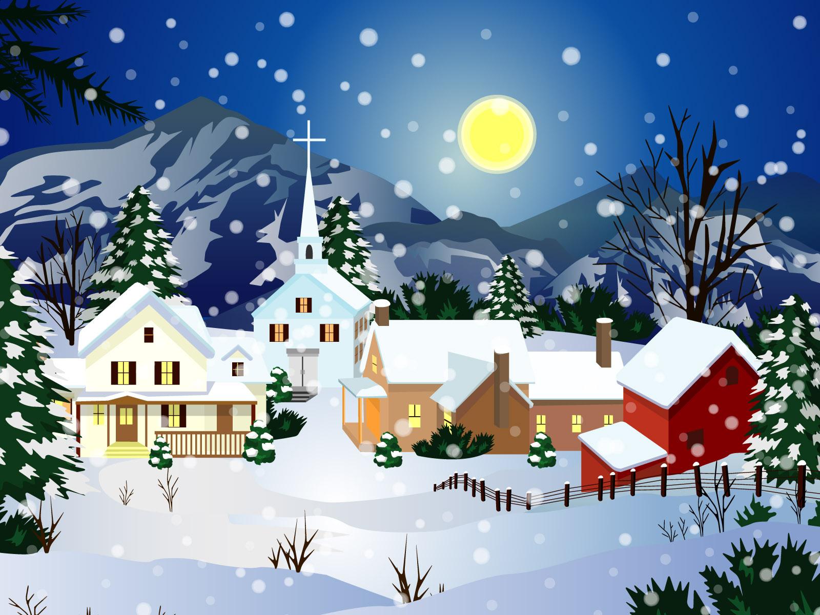 Картинки зима в городе для детей, спортсмены