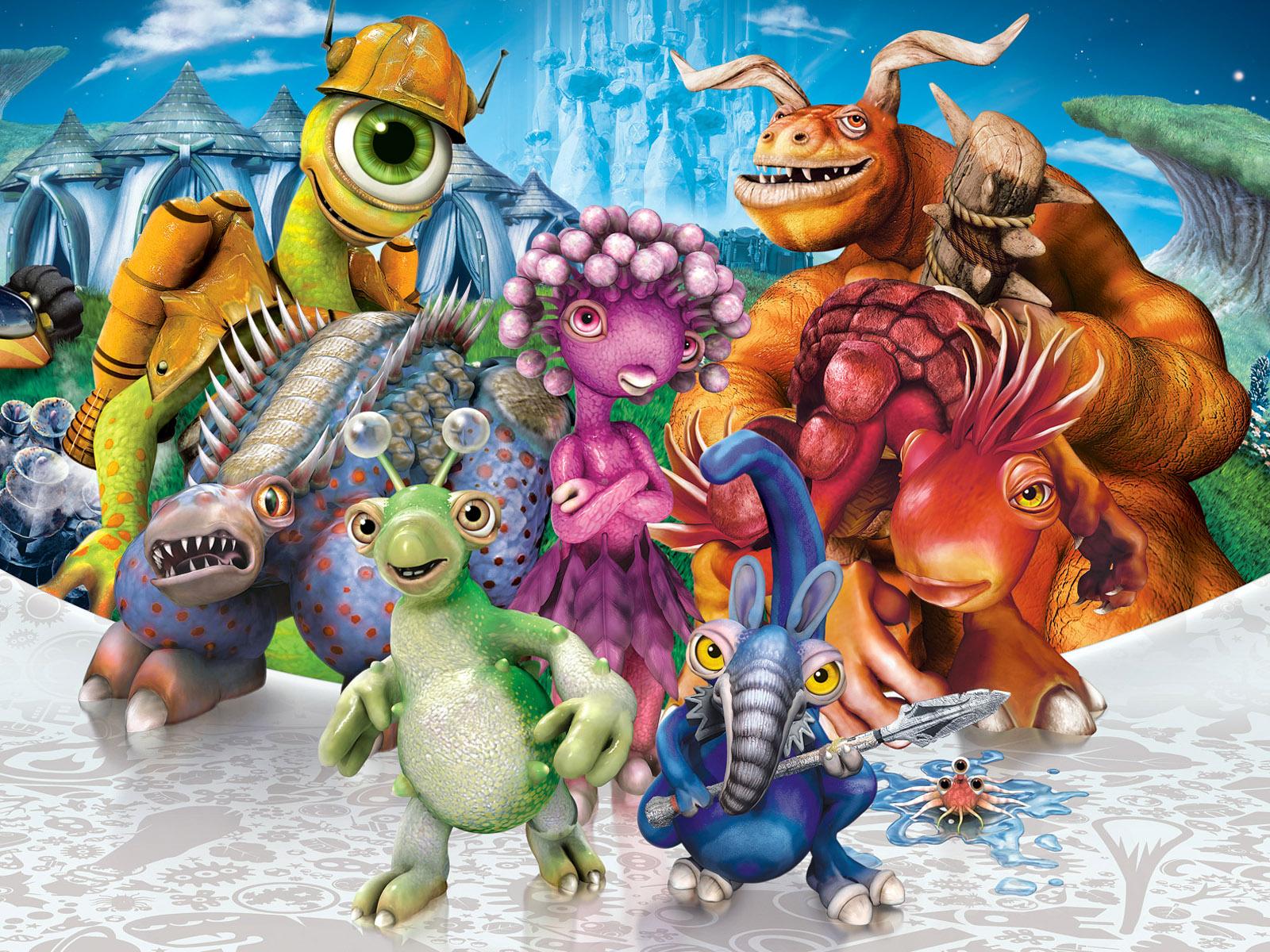 Бесплатно смотреть онлайн Прохождение Spore с Dino0 #1 HD видео игры