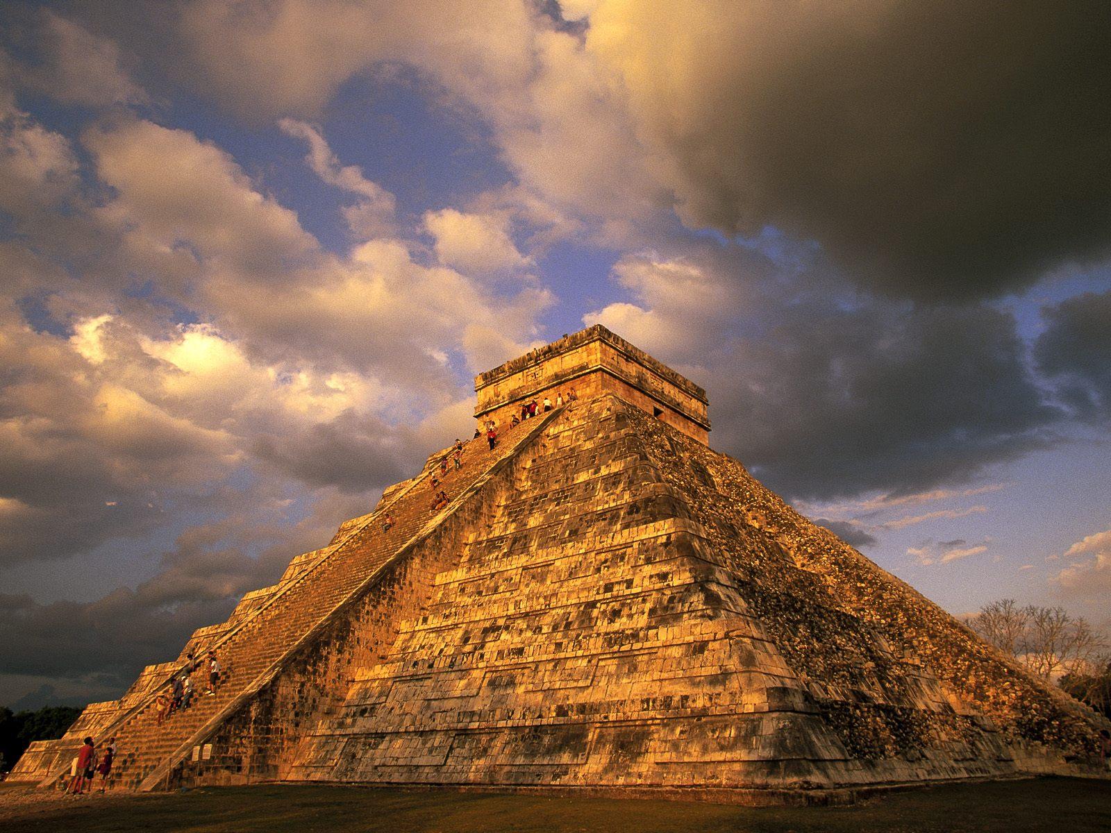 World Mexica Ancient Mayan Ruins
